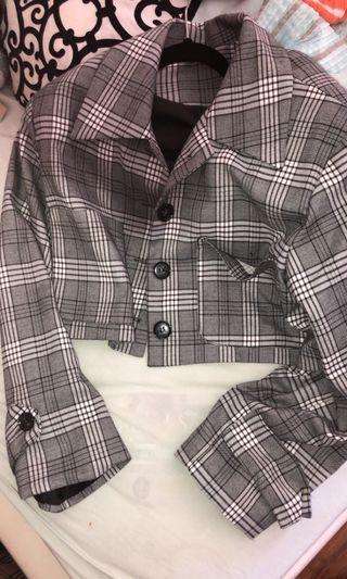 STYLENANDA - Jacket & Skirt Set