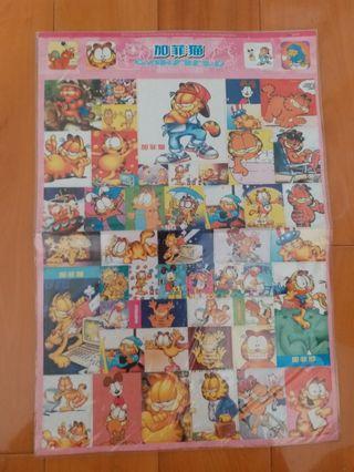 全新加菲貓貼紙
