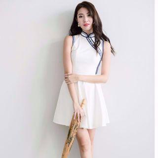 (BN) Megagamie Chinese New Year Cheongsam Dress - Size M