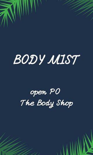 Promo Body Mist The Body Shop