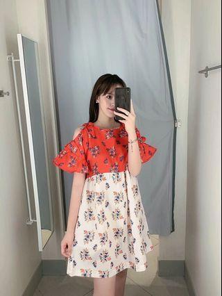 🍎2019 Loose Color Print Dress