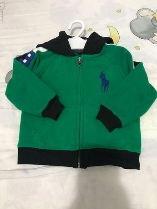 100%real Polo jacket 18m 90%new