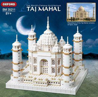 Oxford Brick For Mania Taj Mahal BM35211 Building Block Kit
