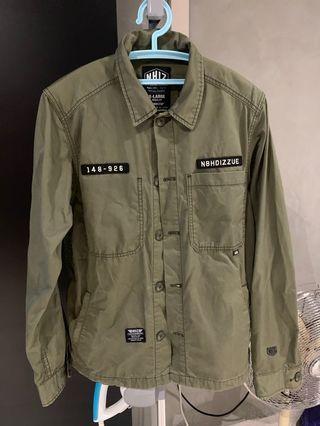 💯 Izzue X Neighbourhood Shirt Jacket