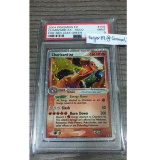 PSA 9 Charizard EX FRLG Fire Red Leaf Green Pokemon TCG Card