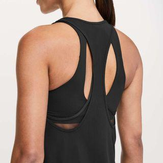 [Size 6] Lululemon Cross Conditioning 2-In-1 Tank *Medium Support B/C Cup