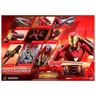 PRE-ORDER : Hot Toys ACS004 - Avengers: Infinity War - Iron Man Mark L Accessories