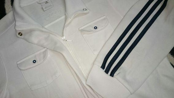 Vintage Adidas Originals track top zipper jacket sweater