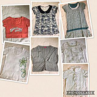 Preloved 7 pcs Ladies Top ALL RM50 only