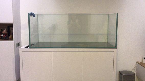 19mm Full Crystal Glass 5ft (150cm) Fish Tank