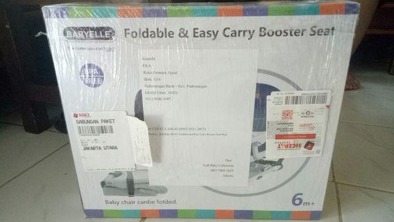 Foldable & Easy Carry Booster Seat - Babyelle