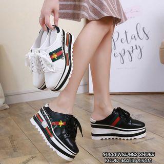 Sepatu Gucci wedges