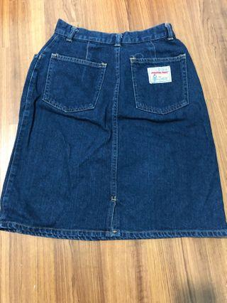 A line high waist skirt waist 26 or below