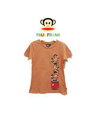 全新·專櫃正品*paul frank大嘴猴 勾勾手大嘴猴男童短袖上衣/短袖T恤(3T)