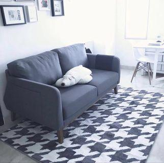 Sofa 2 Seater bahan fabric