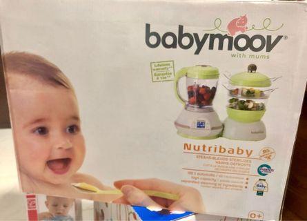 🚚 Preloved Babymoov 3in1 sterilizer-blends-steam