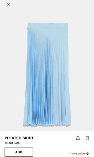 Zara Pleated Skirt