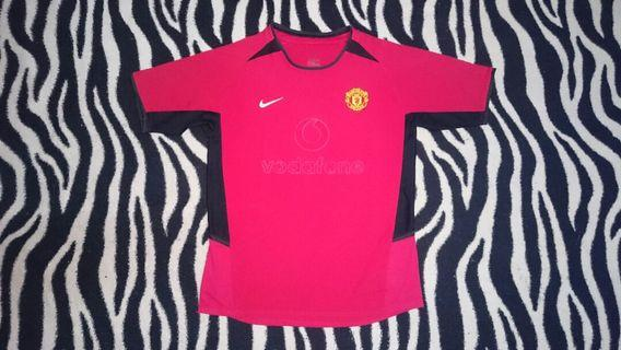 Manchester United home 2002 jersey M boys