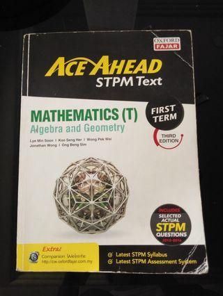 Ace Ahead STPM Text Math(T)First Term