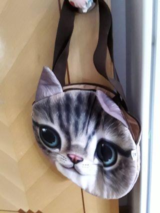 可愛小貓袋