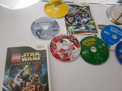 Wii Games 10sgd each