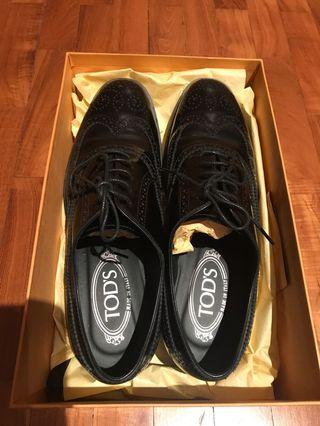 Tod's woman leather lace up shoes