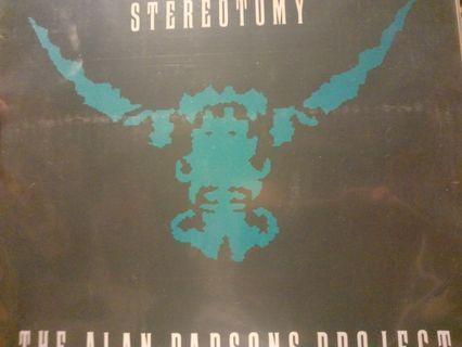 """Alan Parsons Project - Stereotomy 12"""" Inch Vinyl Single"""