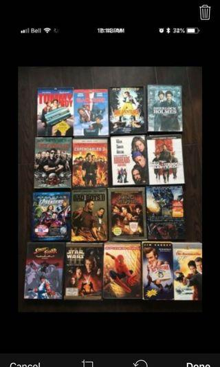 Lots of Movies!!