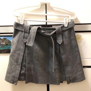 灰色半截裙 skirt