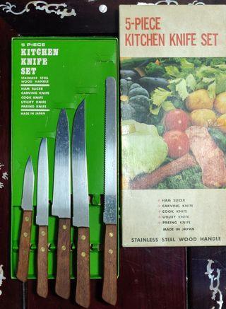 Knife set (made in japan)