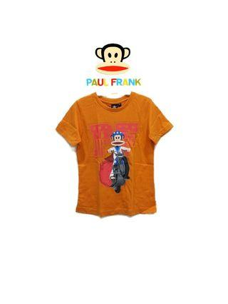 全新·專櫃正品*paul frank大嘴猴 飆速摩托車大嘴猴男童短袖上衣/短袖T恤(3T)