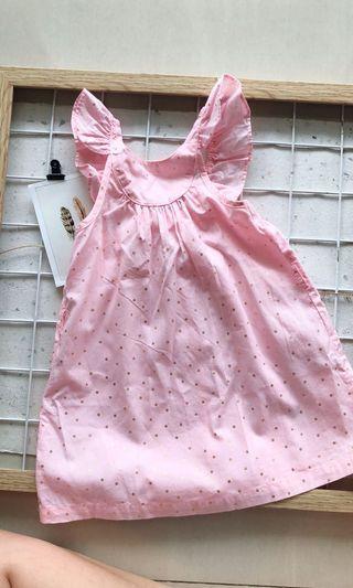 Cotton On Kids Pink Dress