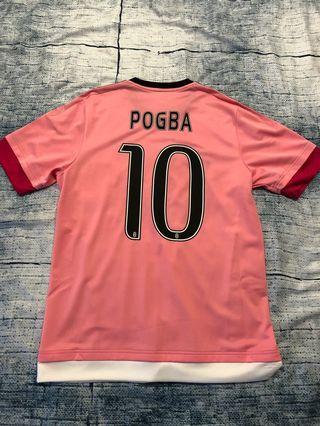 Juventus Serie A 15-16 Away Kit Pogba Jersey