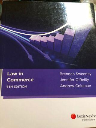 Law in Commerce 6th Edition