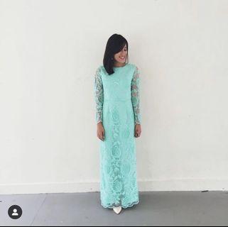 Doublewoot green raya dress