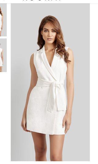 Kookai santalina dress white size 38 (10)