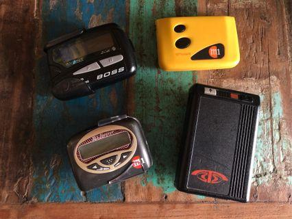 Vintage pager 📟 pagers Lot collectibles collection