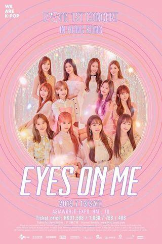 IZ*ONE 香港演唱會 eyes on me