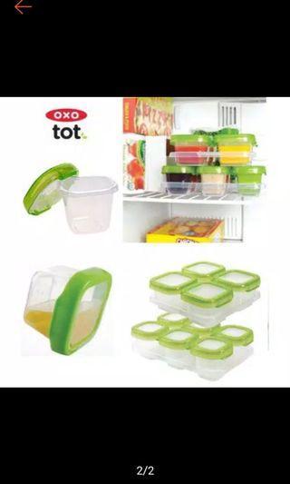 Oxotot baby cubes food jar