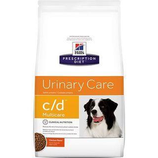 Hill's Prescription Diet c/d Multicare Urinary Care Chicken Flavor Dry Dog Food, 8.5-lb bag