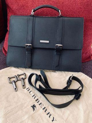 Expat Selling Burberry Black Briefcase