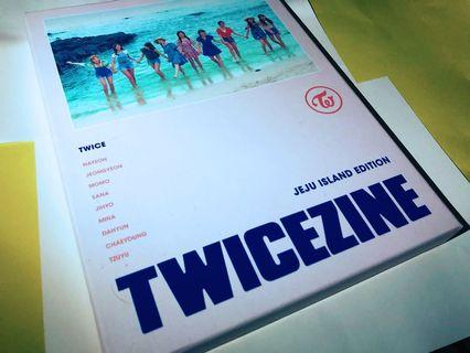 TWICE twicezine jeju islang edition