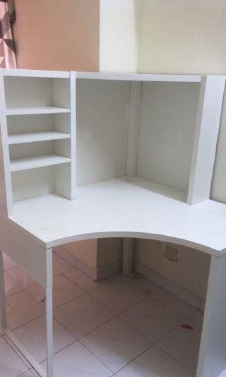 IKEA corner study table