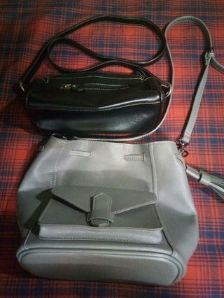 2 Leather bag for women.