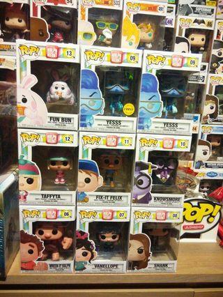 🚚 Funko Pop Wreck It Ralph Set Vanellope Felix Bun Yesss Chase Knowsmore Shank Vinyl Figure Collectible Toy Gift Movie Disney Cartoon Pixar