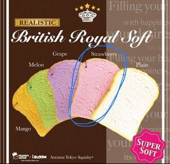 Aoyama Tokyo iBloom British royal soft strawberry squishy