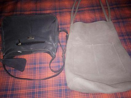 Two Ladies bag Leather.