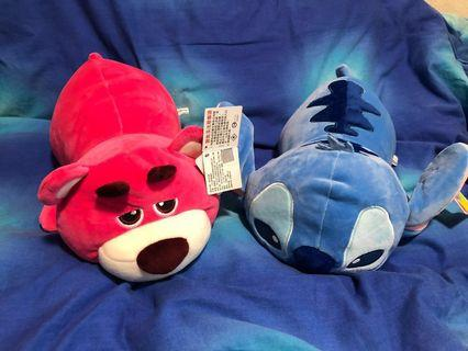 Authentic slpy Stitch & Lotso
