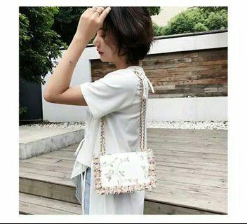 LADIESBAG - TAS WANITA BAG SELEMPANG CEWEK IMPORT KOREA FASHION SLING BAG MU