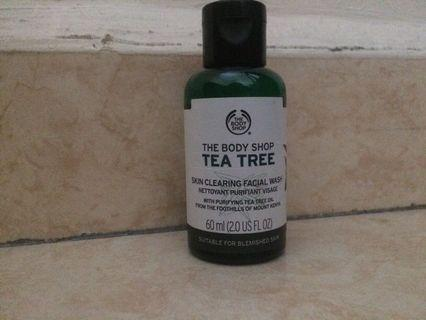 #BAPAU The Body Shop Tea Tree Facial Wash
